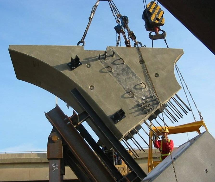 Verbinden van betononderdelen