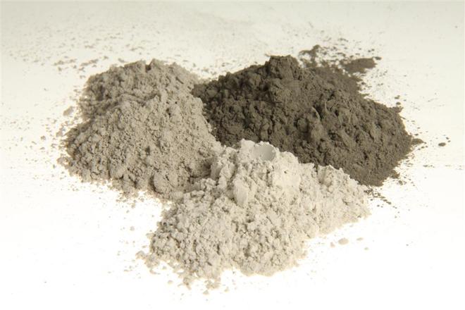 Een vulstof, meestal fijner dan 63 ?m, wordt aan beton toegevoegd ter aanvulling van de          hoeveelheid fijn materiaal (foto CUR)