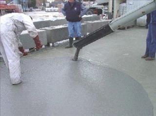 Stort van zelfverdichtend beton