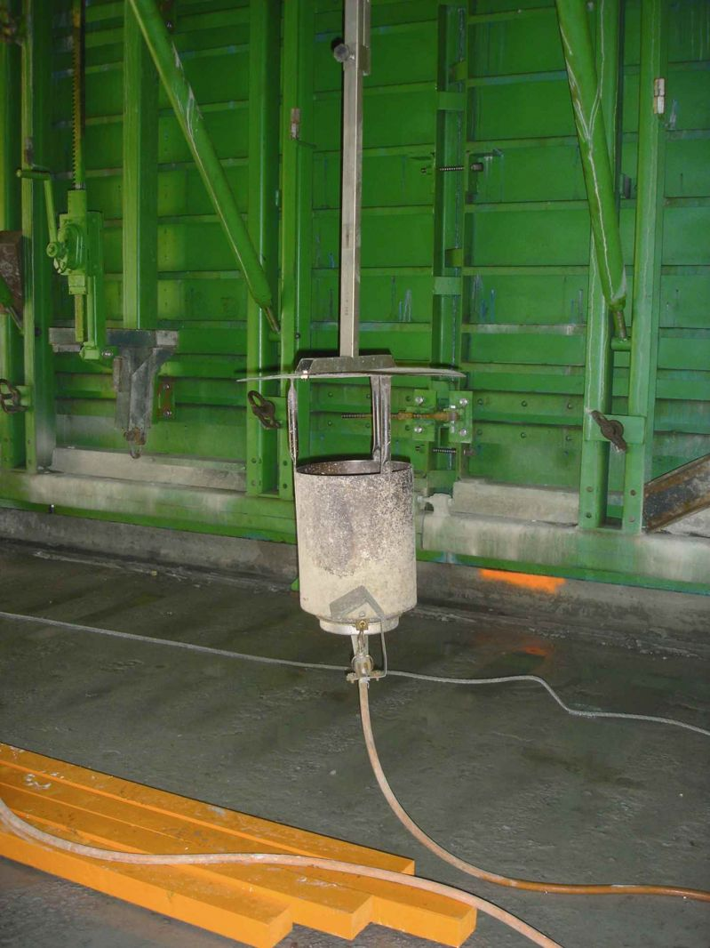 Warme gietbouw - gasverwarming