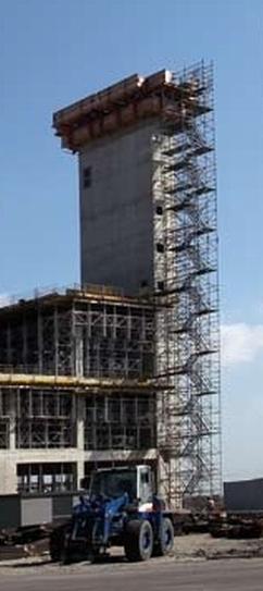 Glijbekisting silo