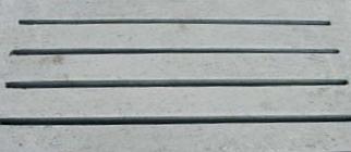 Detail roostervloer
