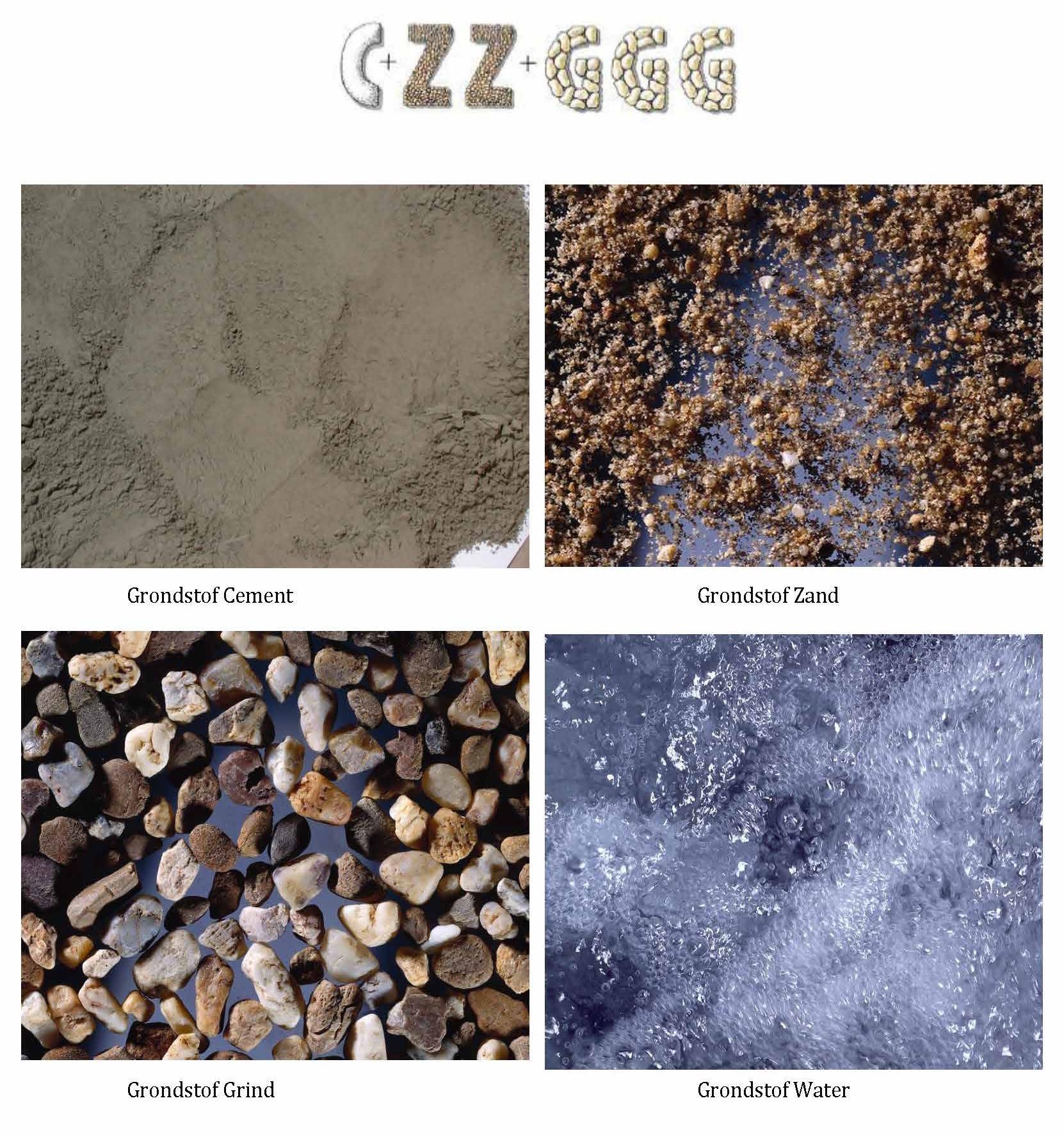 Samenstelling van beton