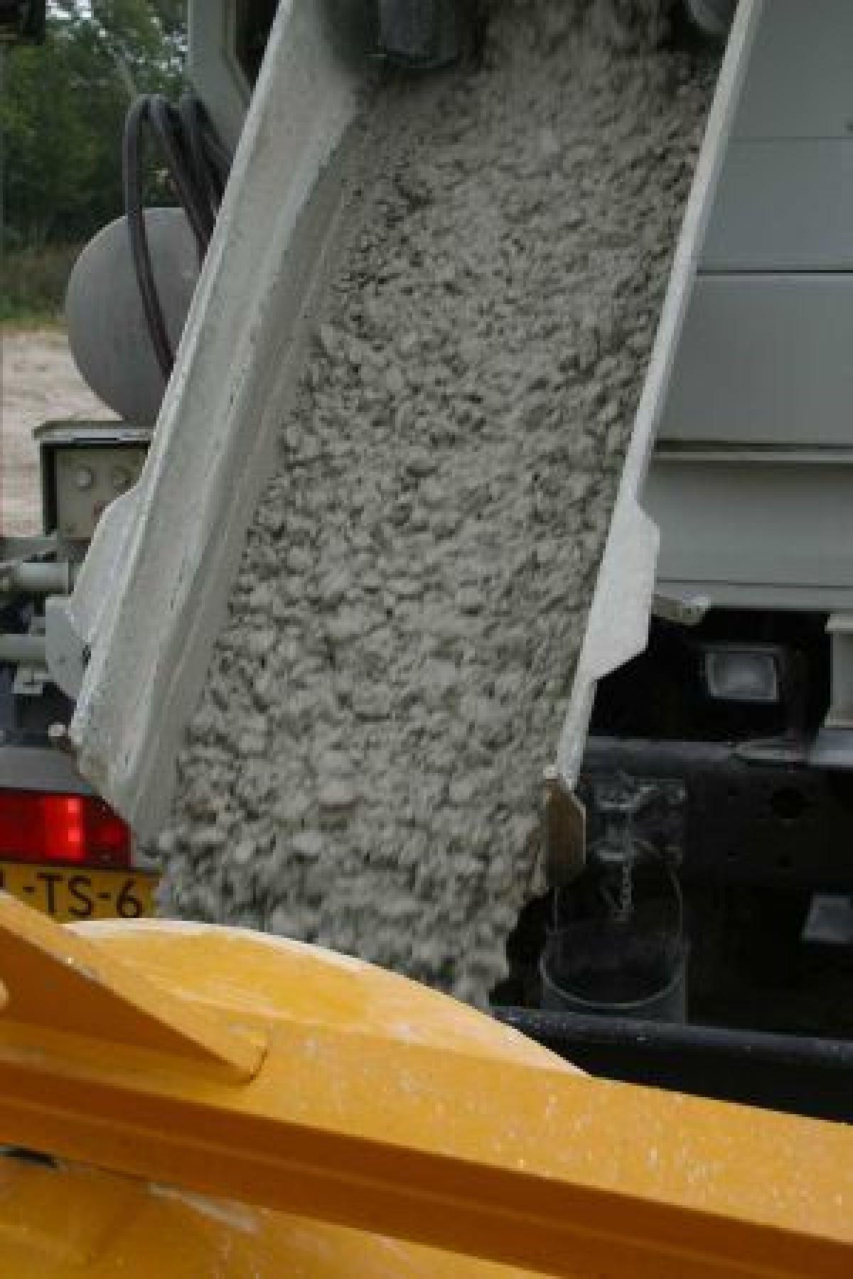 In de plastische fase spreken we van betonspecie
