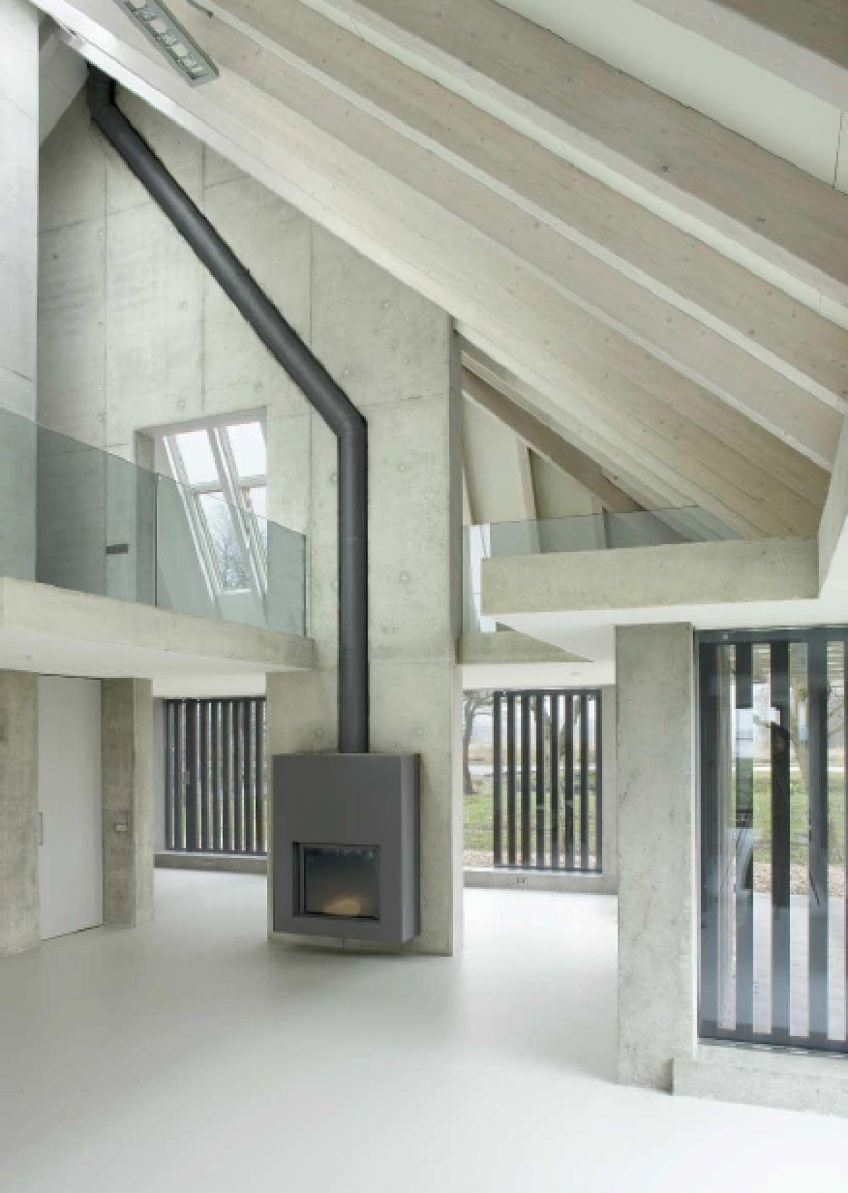 Interieur in beton, Sterk Huis Tjalleberd
