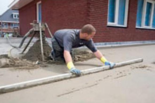 Aanleg cementgebonden dekvloer