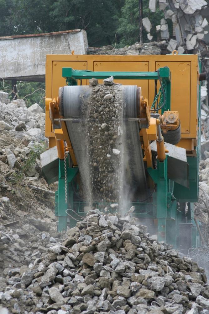 Beton kan worden hergebruikt om nieuw beton te maken